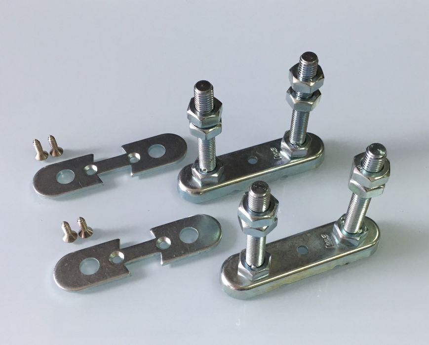 Top & Base Fixing Set | Aluminium Pole System Malaysia