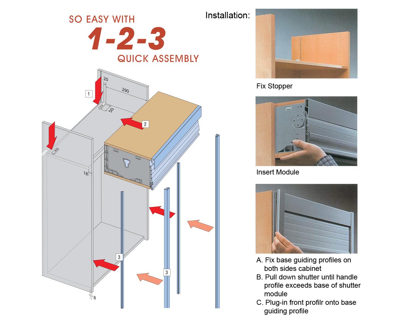 Modular Easy Roll System